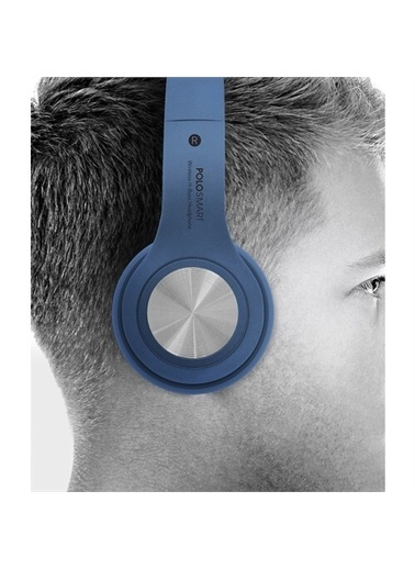 Polo Smart Fs19 Kulaküstü Kablosuz Kulaklık Mavi Mavi